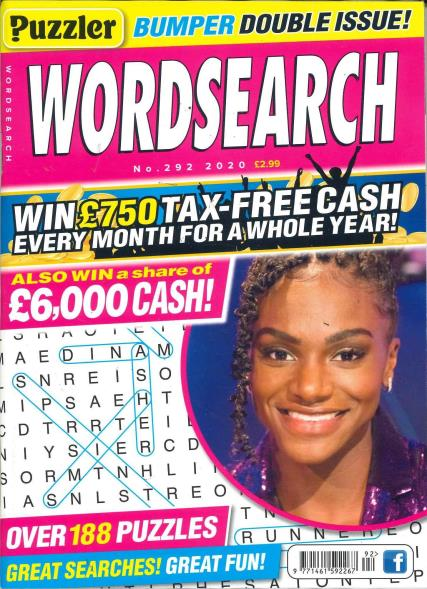 Puzzler Word Search magazine