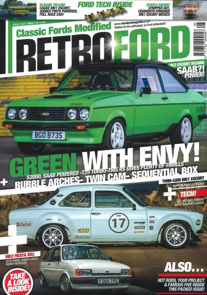 Retro ford magazine