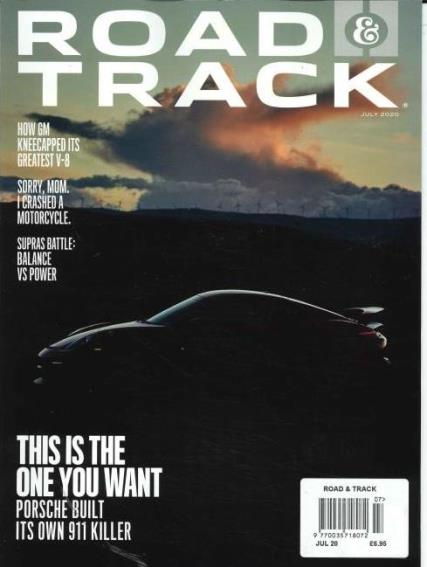 Road & Track Monthly magazine