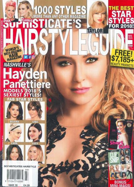 Sophisticate\'s Hairstyle Guide Magazine Subscription