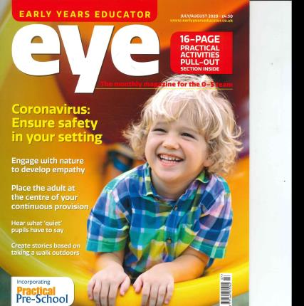 Early Years Educator magazine
