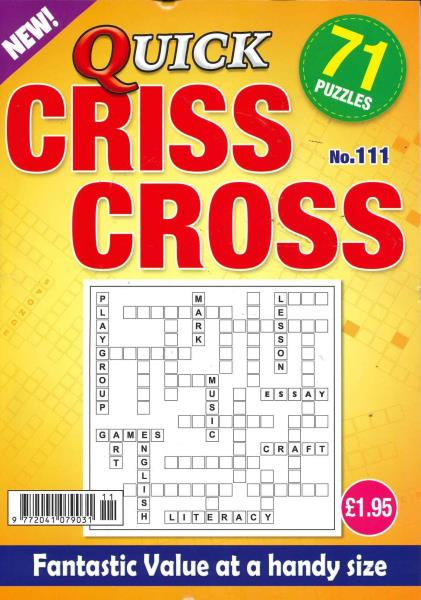 Quick Criss Cross magazine