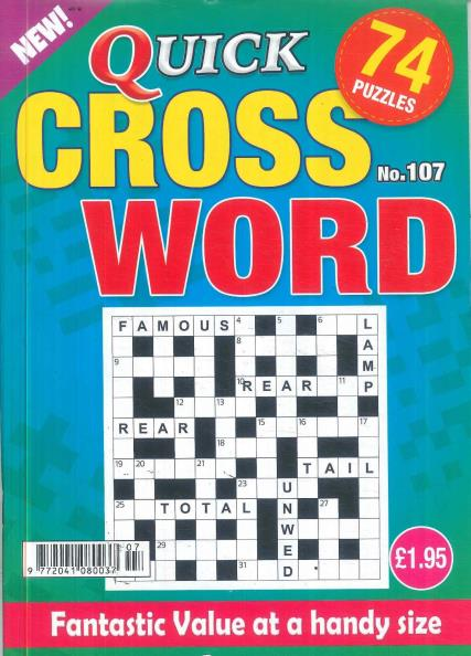 Quick Crosswords magazine