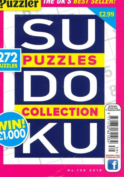 Sudoku Puzzles Collection magazine