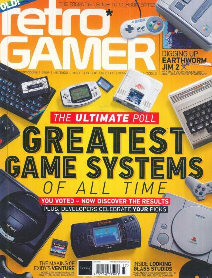 Retro Gamer magazine