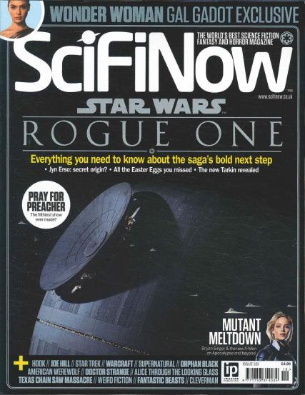 SciFi Now magazine