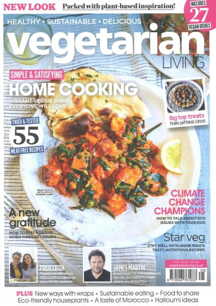 Vegetarian Living magazine