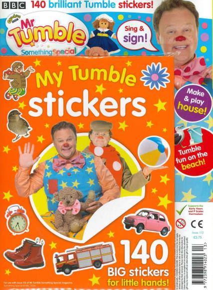 Mr Tumble - Something Special magazine