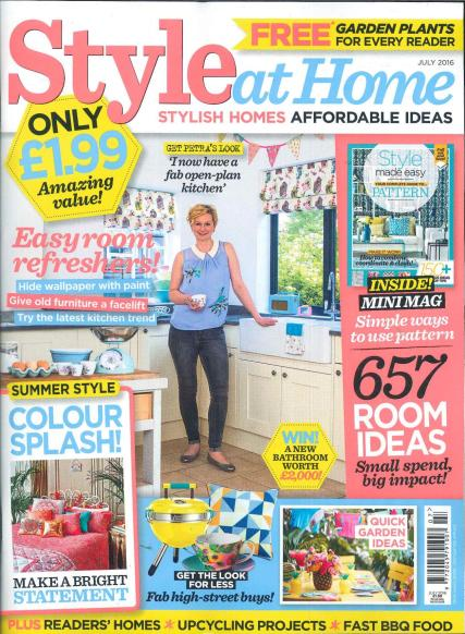 Subscribe to style at home magazine house design plans - Home decorating magazine subscriptions plan ...