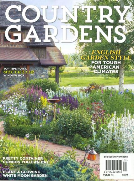 BHG Country Gardens magazine