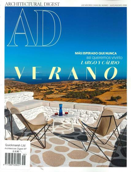 Architectural Digest Spanish magazine