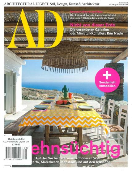 Architectural Digest German magazine