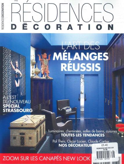 Residences Decoration magazine