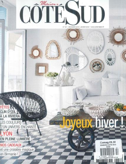 maison cote sud magazine subscription. Black Bedroom Furniture Sets. Home Design Ideas