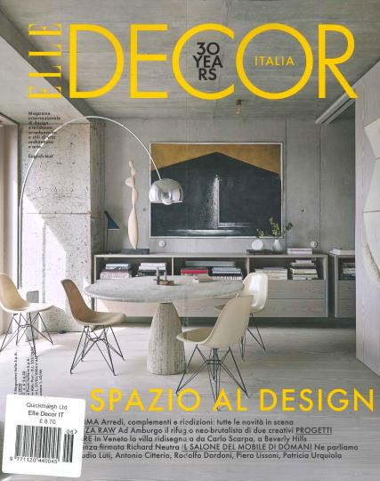 Elle Decor Italian magazine