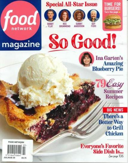 Food Network Magazine Issues Per Year