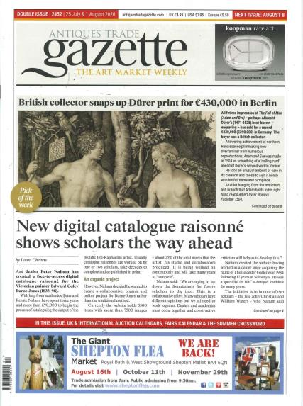 Antique Trade Gazette magazine