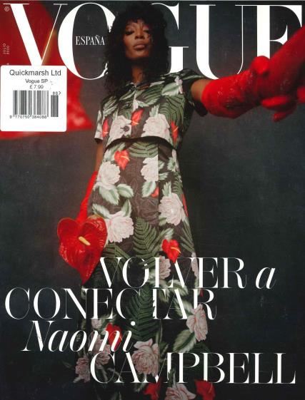Vogue Spanish magazine