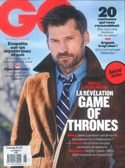 GQ French magazine