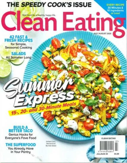 Clean eating magazine subscription buy at uniquemagazines clean eating magazine forumfinder