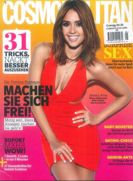 Cosmopolitan German magazine