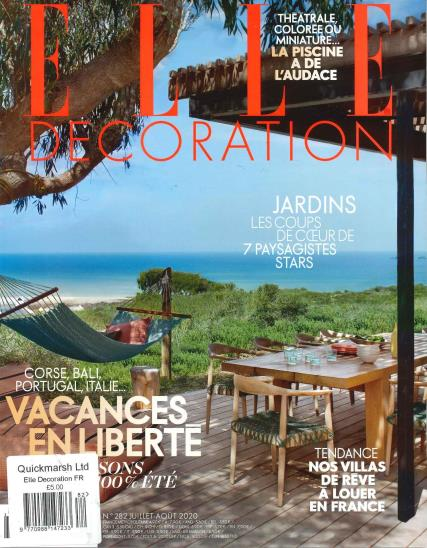 Elle Decoration French magazine