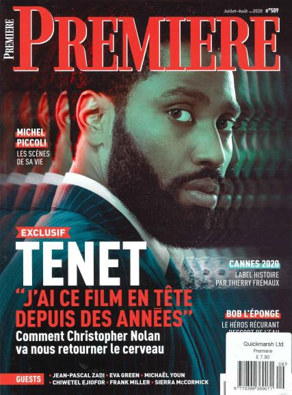 Premiere French magazine