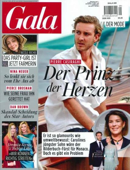Gala German magazine