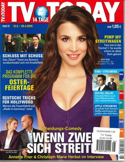 Tv Today magazine