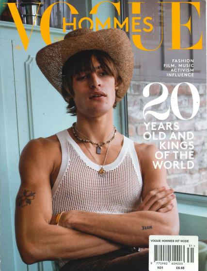Vogue Hommes International Mode magazine