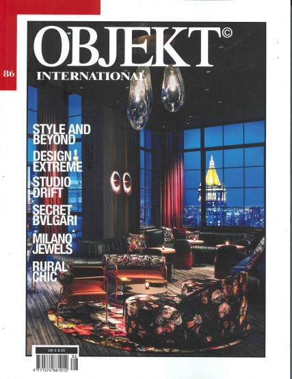 Objekt International UK magazine