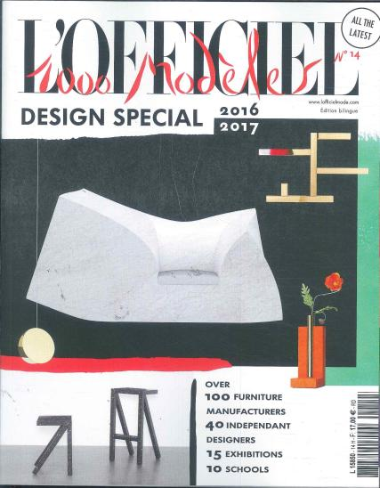 L Officiel 1000 Models Design magazine