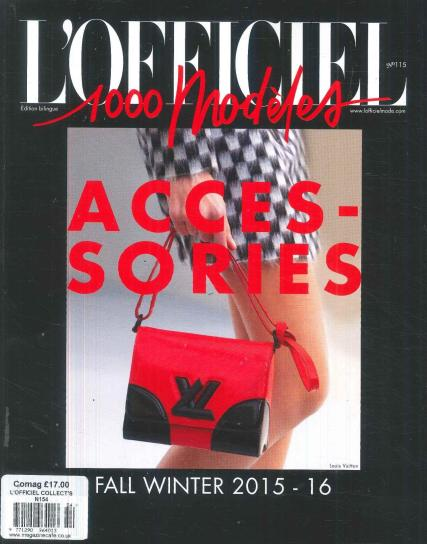 L'Officiel Collections magazine