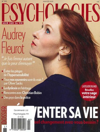 Psychologies French magazine