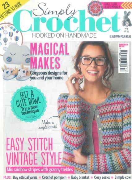 Crochet Monthly Magazine : Magazines for Schools, Colleges and Universities Subscription ...