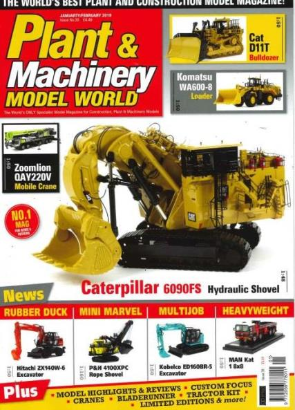 Plant and Machinery Model World magazine