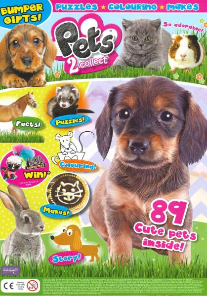 Pets 2 Collect magazine