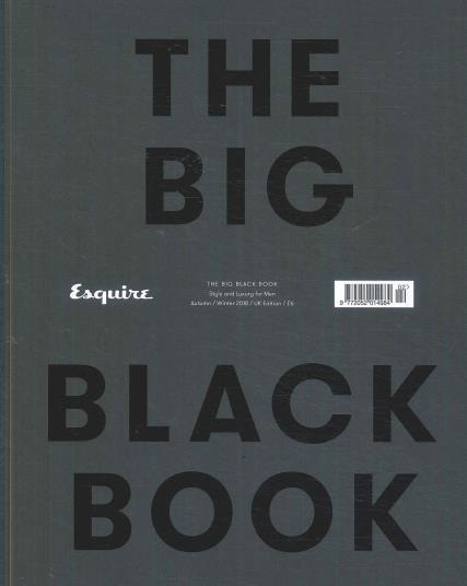 Esquire Big Black Book UK Edition magazine