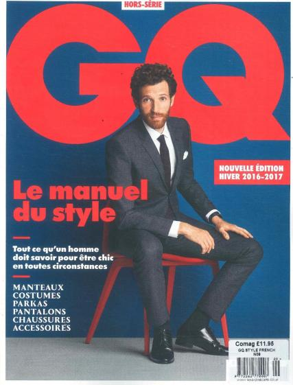 GQ Style French magazine