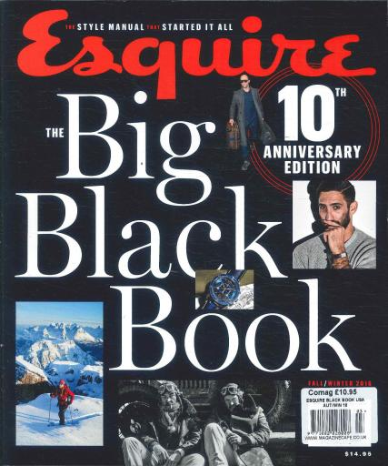 Esquire Big Black Book USA magazine