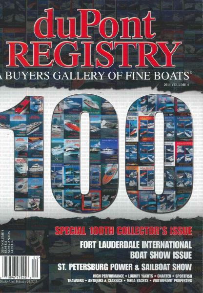 Dupont Registry Of Fine Boats magazine