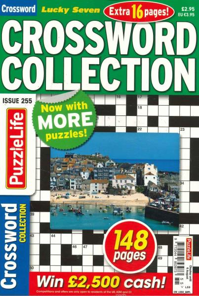 Lucky Seven Crossword Collection magazine