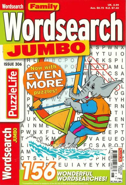 Family Wordsearch Jumbo magazine