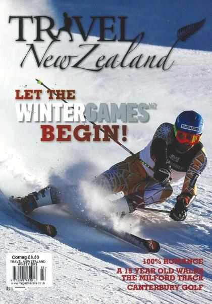 Travel New Zealand magazine
