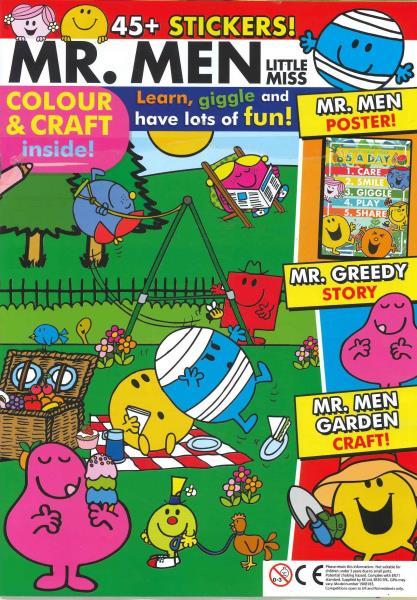 Mr Men Little Miss magazine