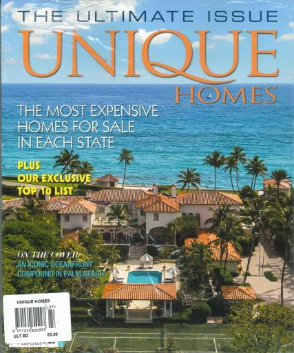 Unique Homes magazine