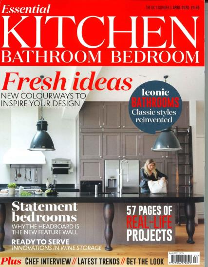 Essential Kitchen Bathroom Bedroom magazine