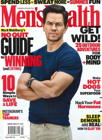 Men's Health USA magazine
