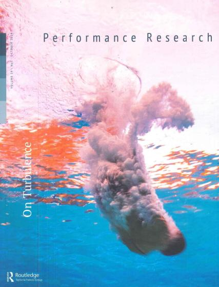 Performance Research magazine