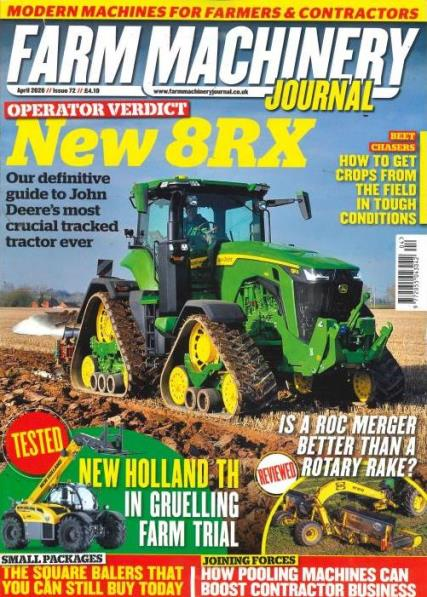 Farm Machinery Journal magazine